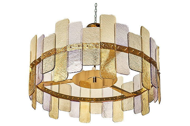 #5744 - Murano Chandelier (2 Sizes Available)