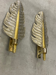 #6734-UUGG - Pair of Murano Sconces