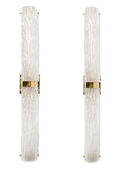 #5043-UCGG - Pair of Murano Glass Sconces