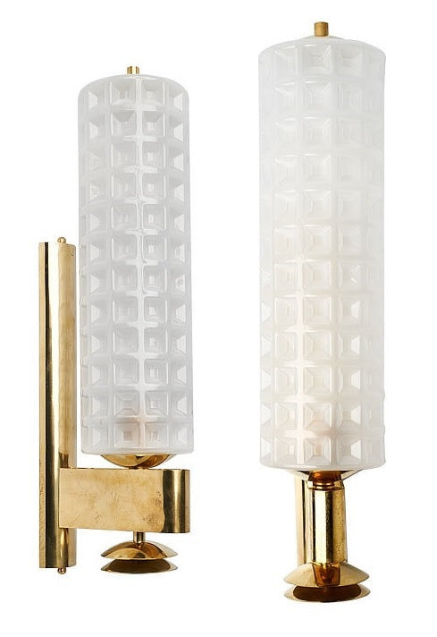 #5045-PAGG - Pair of Murano Glass Sconces