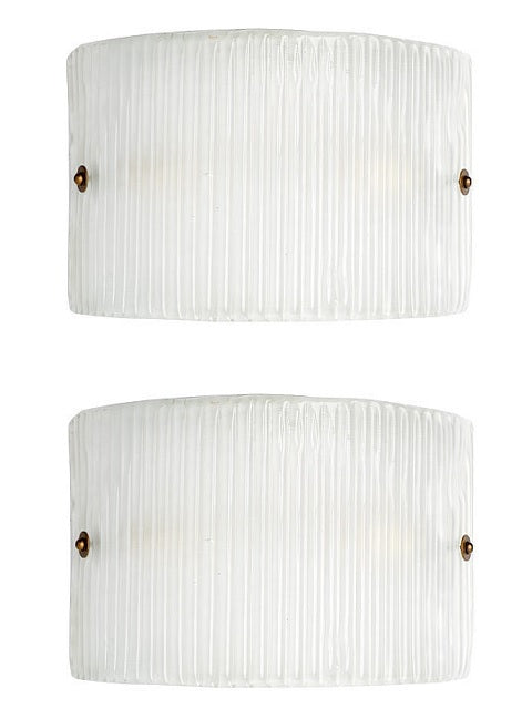 #5046-PCCG - Pair of Murano Glass Sconces