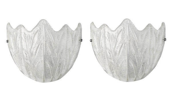 #5173-PPUG - Pair of Murano Sconces