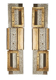 #5199-CGGG - Pair of Murano Sconces