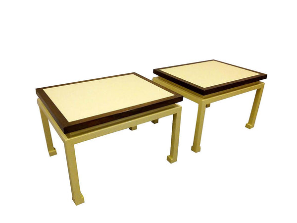 #5530-RAGG - Pair of Contemporary Side Tables