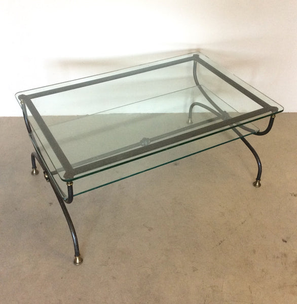 #5556-PGGG - Iron Coffee Table