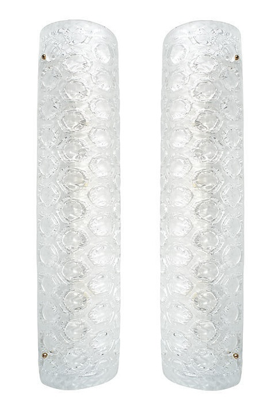 #5676-PAGG - Pair of Murano Sconces