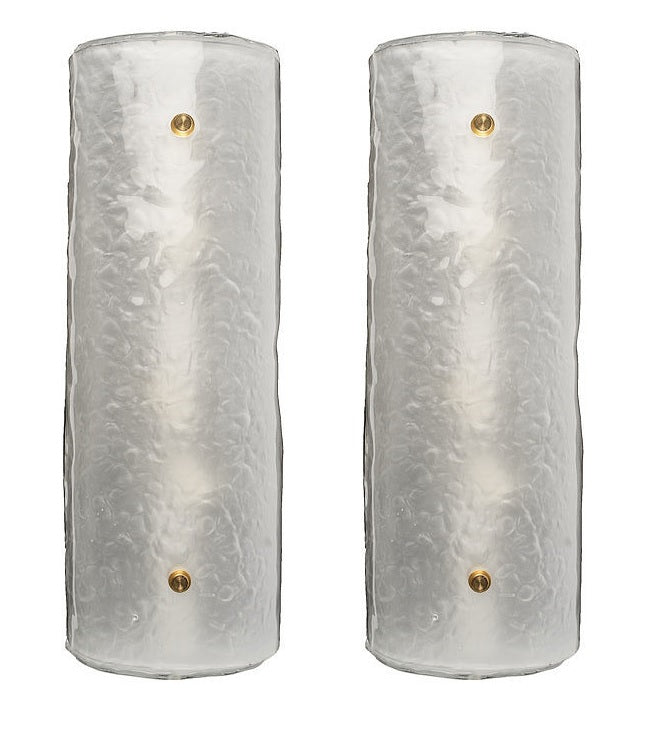 #5686-PHUG - Pair of Murano Sconces