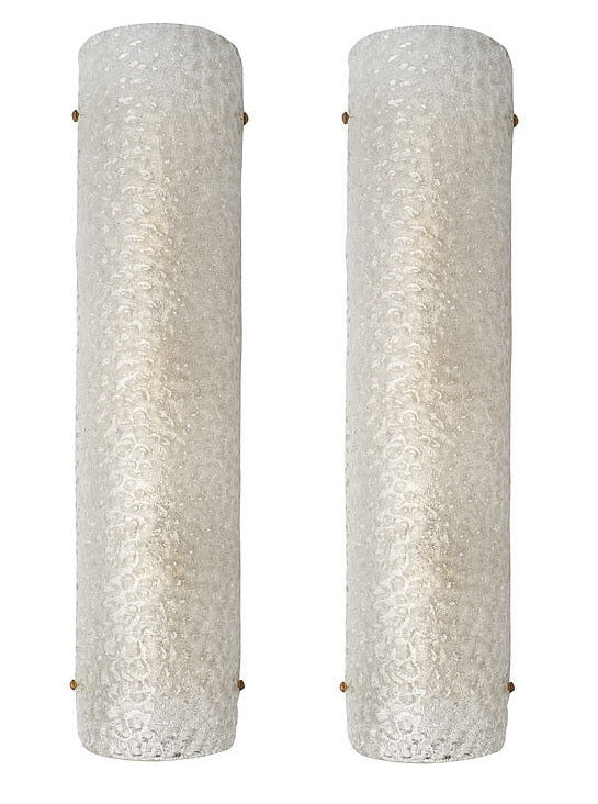 #5697-PAGG - Pair of Murano Sconces
