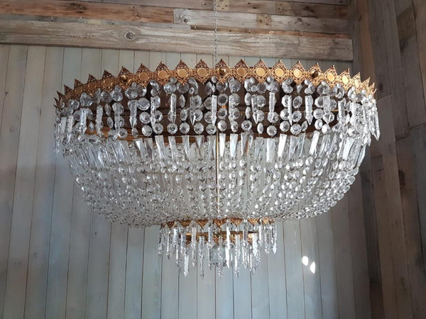 #5704-CGGG - Crystal Chandelier