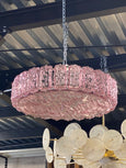 #5746 - Murano Chandelier (3 Sizes, Clear or Colored Glass)