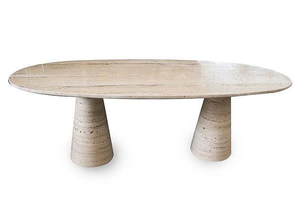 #6245 - Travertine Dining Table