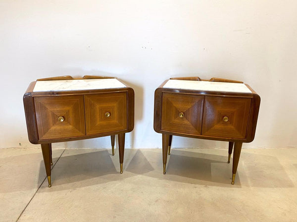 #6728-UUGG - Pair of 1950's Beside Tables