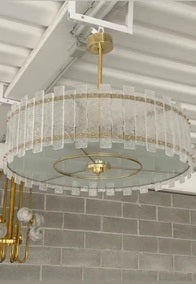 #6976 - Murano Chandelier (2 Sizes Available)
