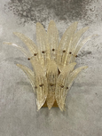#6735-PNUG - Pair of Murano Sconces