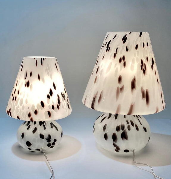 #7053-PIGG - Pair of Murano Lamps (2 Sizes Available)