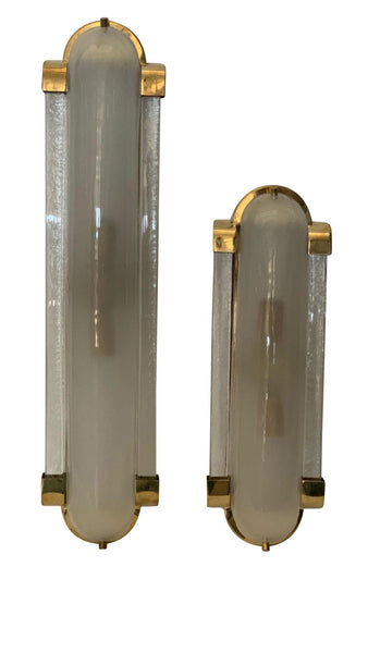 #5167 - Pair of Murano Sconces (2 Sizes Available)