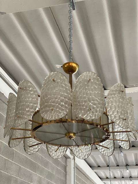 #6596 - Murano Chandelier (2 Sizes Available)