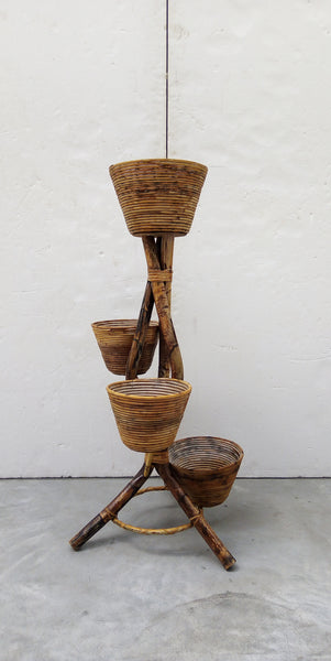 #6494-SUG - Bamboo Plant Stand