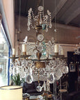 #5467-PIGG - Crystal Chandelier