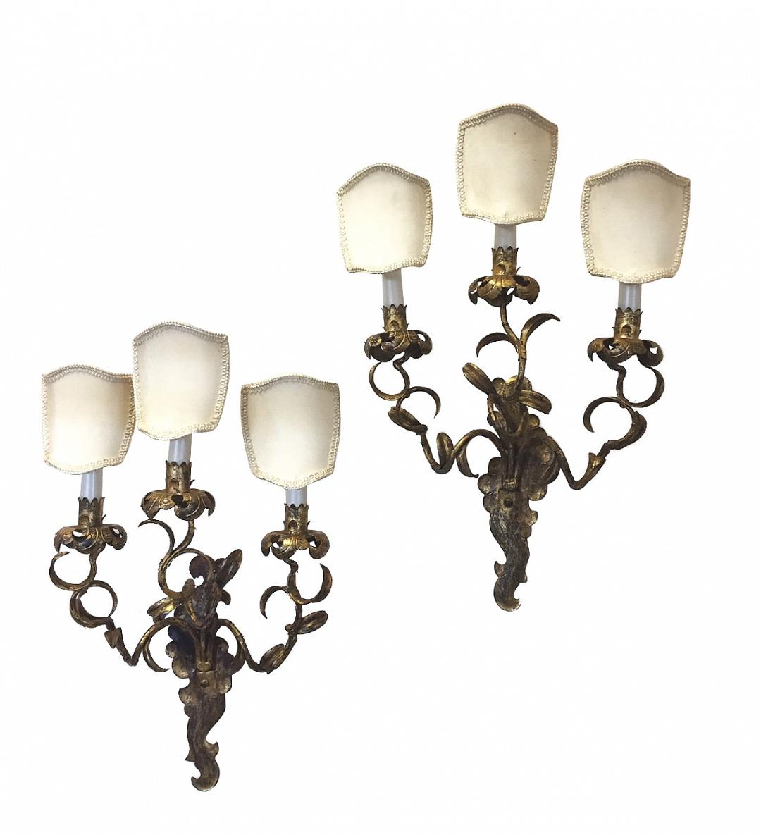 #5276-RAGG - Pair of Sconces
