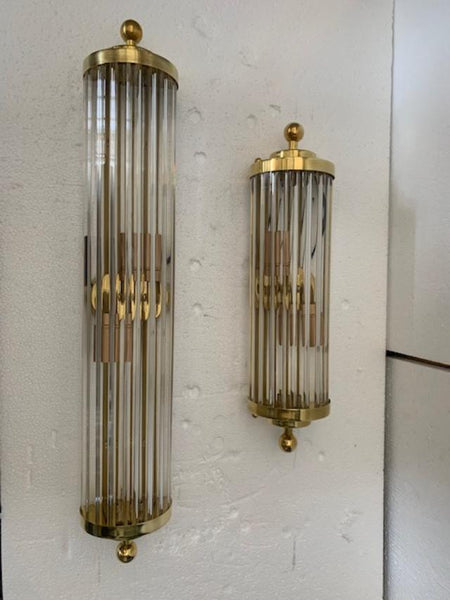 #5158 - Pair of Murano Sconces (Available in 2 Sizes)