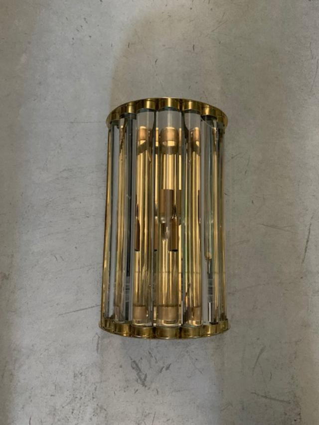 #5632-PNUG - Pair of Murano Sconces (Various Sizes Available)