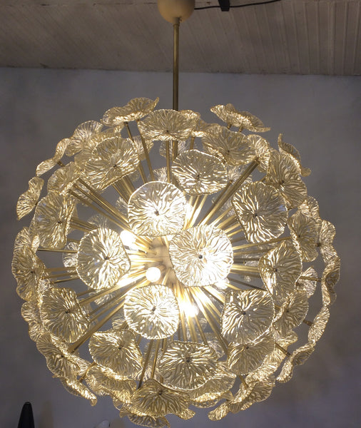 #6067-SGGG - Murano Chandelier (Only 1 Available)