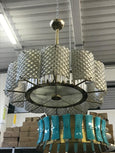 #5015-HAGG - Murano Glass Chandelier