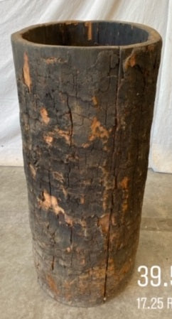 #6417-PUGG - Wabi Sabi Tree Trunk Planter