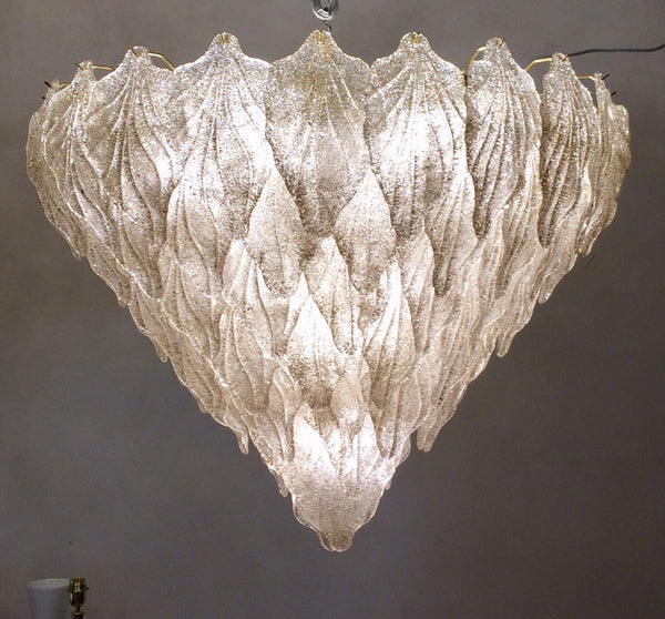 #6066-HAGG - Murano Chandelier (Only 1 Available)