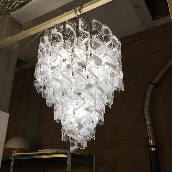 #5900-RGGG - Murano Chandelier (2 Available)
