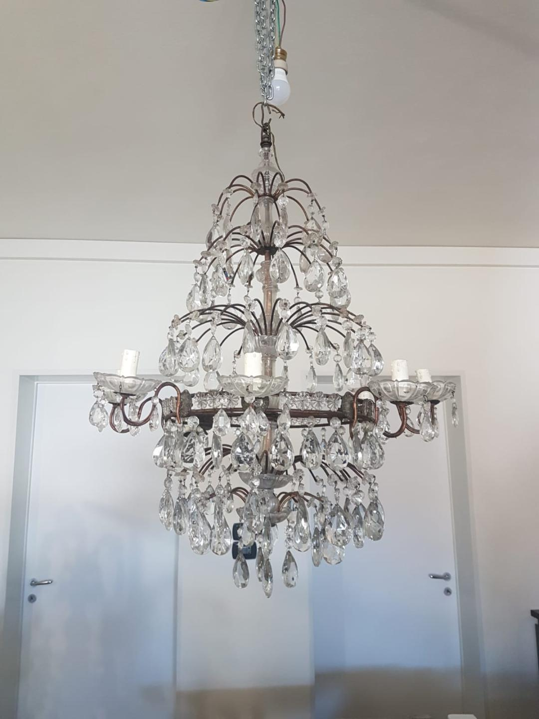 #5316-UGGG - Crystal Chandelier