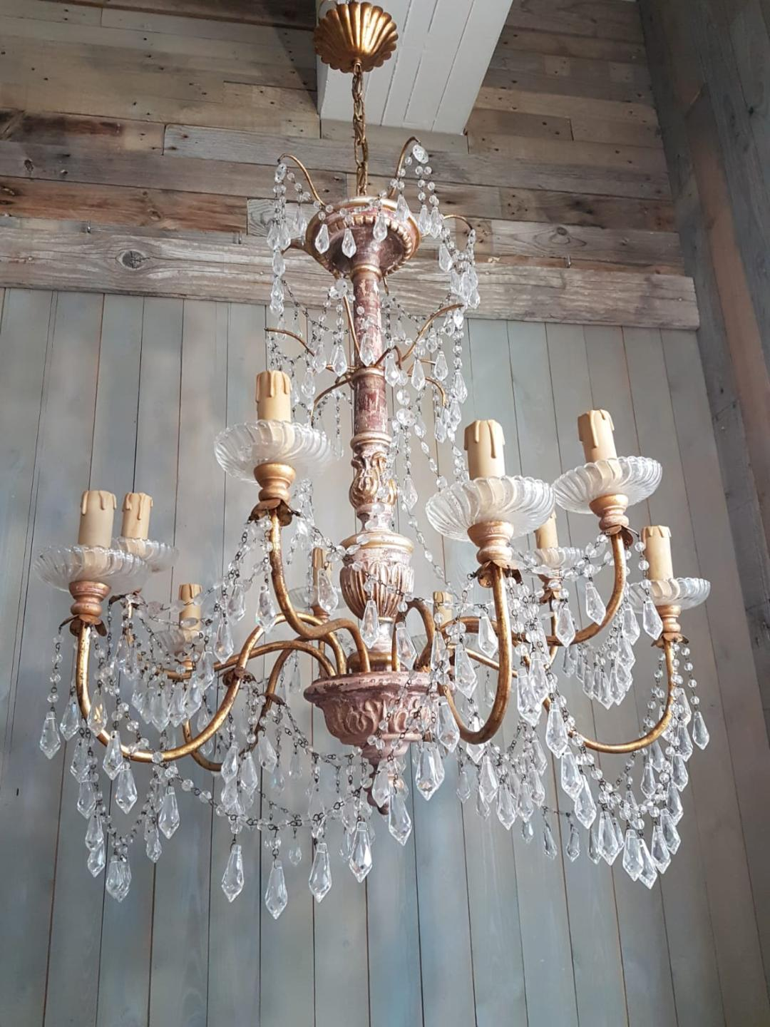 #5341-PAGG - Crystal Chandelier