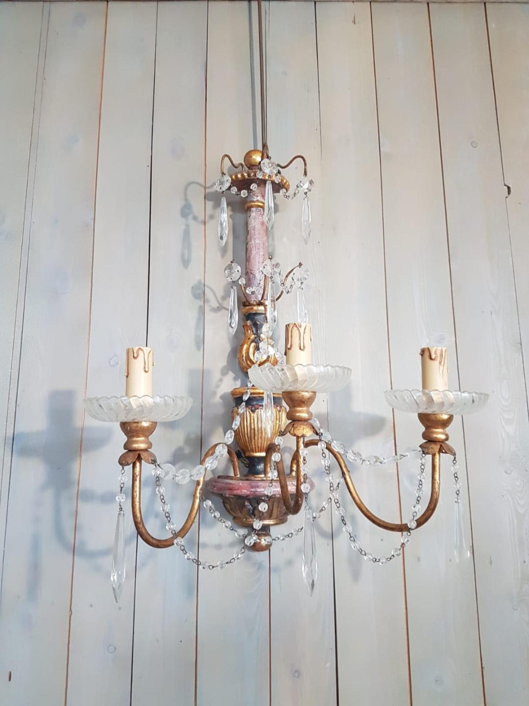 #5544-AGG - Single Sconce