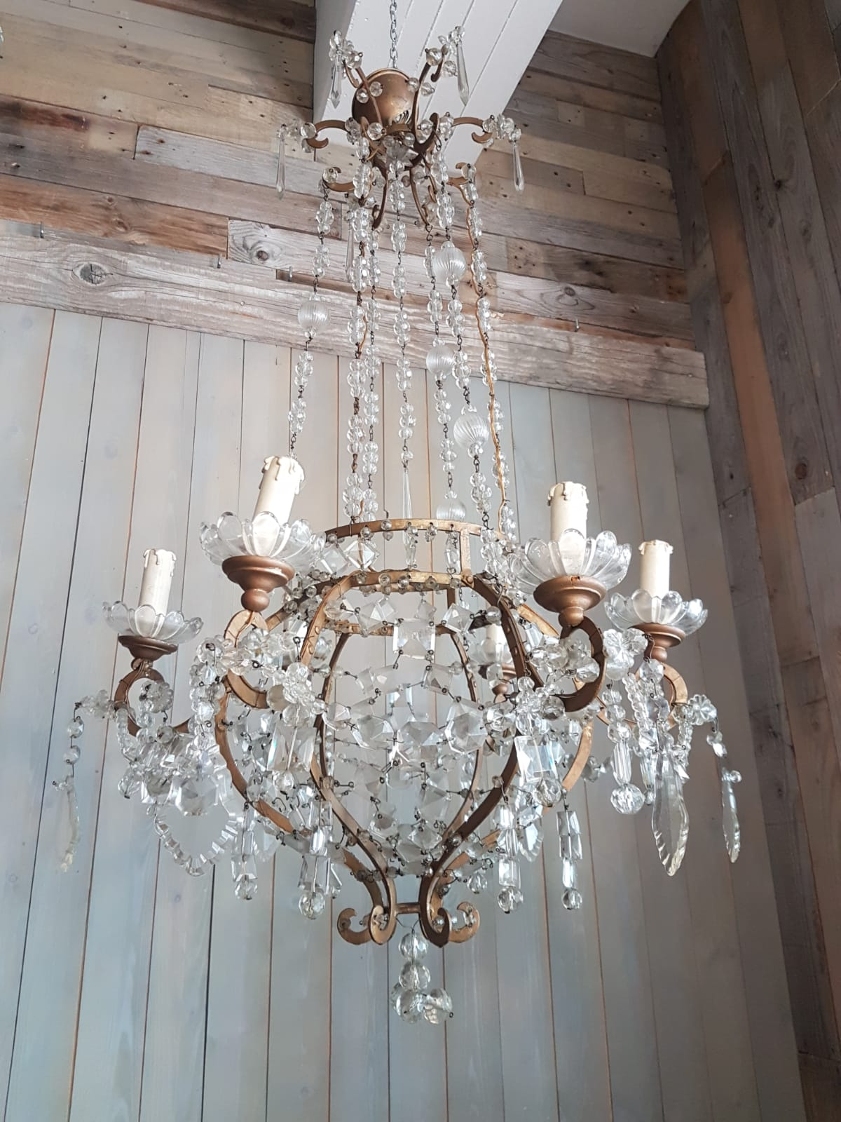 #6616-HAGG - Crystal Chandelier