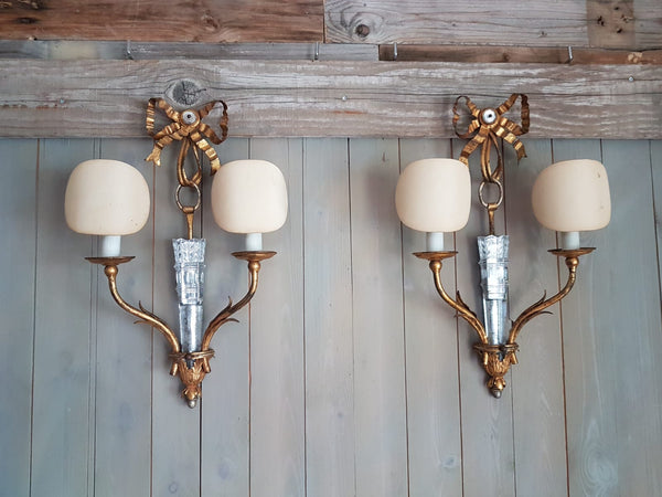 #6701-RUGG - Pair of Sconces