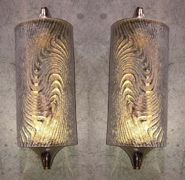 #6910-PAGG - Pair of Murano Sconces