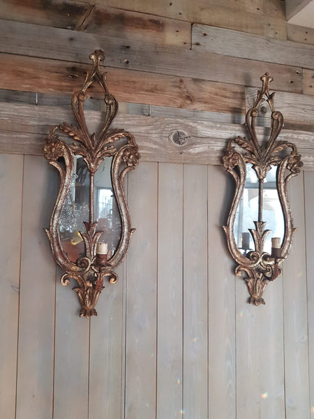#6791-PCGG - Pair of Sconces