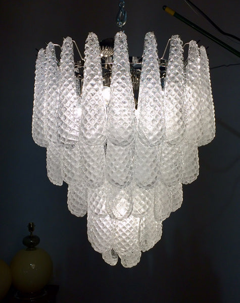 #6069-RGGG - Murano Chandelier (Only 1 Available)