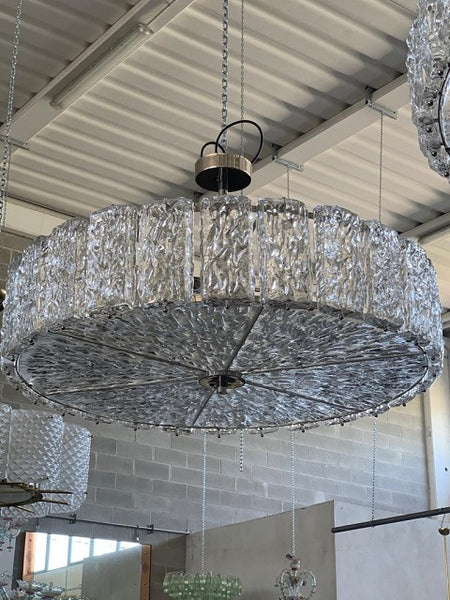 #5026 - Murano Chandelier (4 Sizes, Clear or Colored Glass)