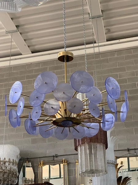 #5031-NAGG - Murano Glass Chandelier