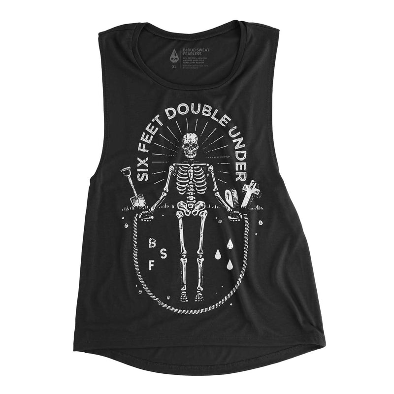 Six Feet Double Under Muscle Tee