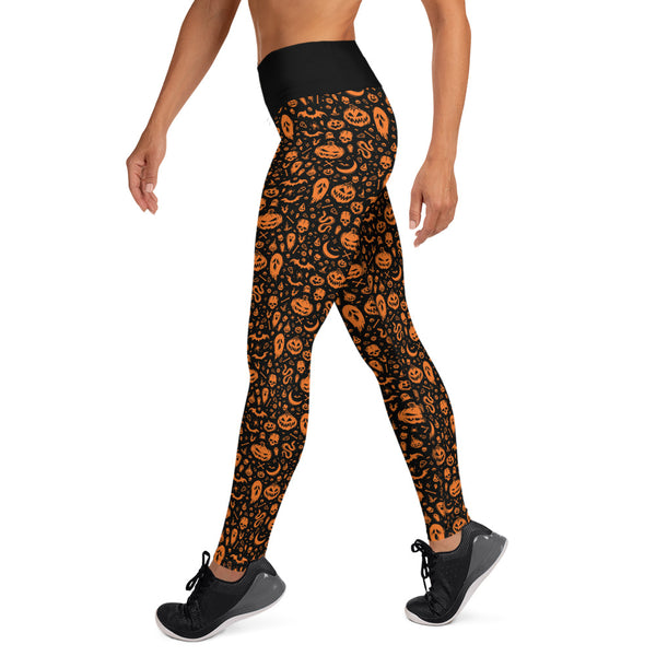 Something Wicked Yoga Leggings