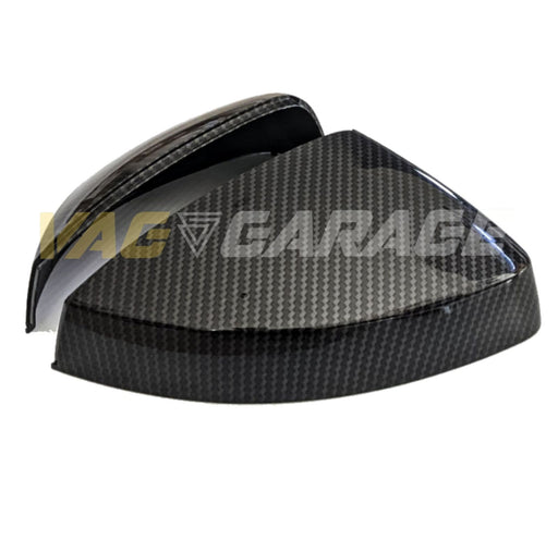 VGA® Carbon Fibre Style Replacement Mirror Covers AUDI A3 S3 RS3 8V (2013 - present) - VAG Garage Australia ® - VW/AUDI Aerokits, Aftermarket Parts & Accessories.
