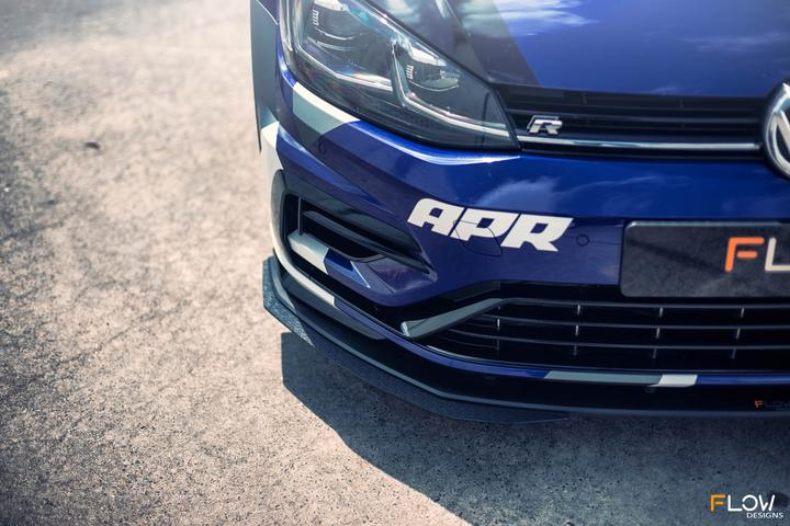 FLOW DESIGNS VW MK7.5 GOLF R FULL SPLITTER SET - VAG Garage Australia ® - VW/AUDI Aerokits, Aftermarket Parts & Accessories.
