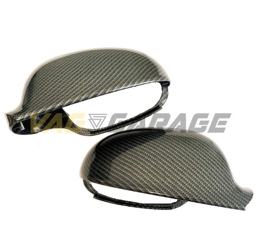 VGA® Carbon Fibre Style Replacement Mirror Covers MK5 GTI/R32 - VAG Garage Australia ® - VW/AUDI Aerokits, Aftermarket Parts & Accessories.