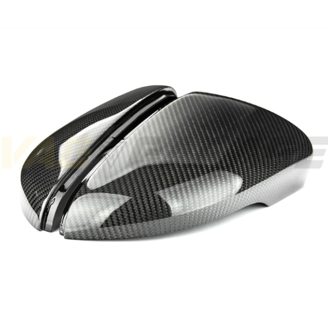 VGA® Carbon Fibre Style Replacement Mirror Covers MK6 GTI/R - VAG Garage Australia ® - VW/AUDI Aerokits, Aftermarket Parts & Accessories.