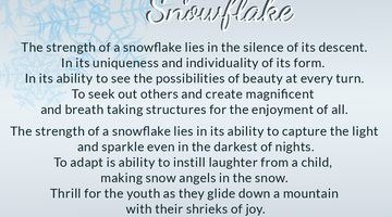Strength of a Snowflake
