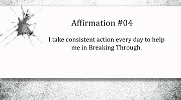 Breaking Through - Day Four