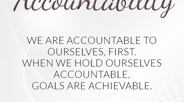 Defining Thoughts - Day Eleven - Accountability